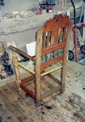 Lars Hugger stol (snedker fra Køge)