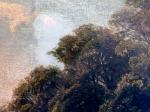Olie på lærred – Meget snavset, div. skader, renset, skader retoucheret og ny overflade.Thorvald Niss