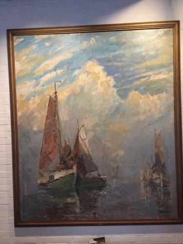 Maleri af Niels Hansen , Fyn.  Renset