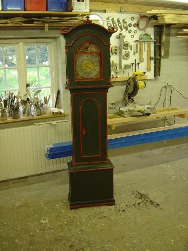 Køng ur efter restaurering