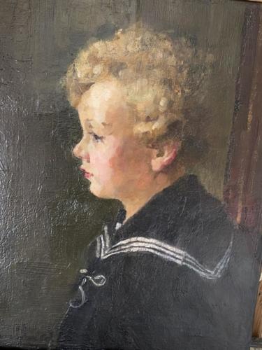 Maleri renset og retoucheret mv.